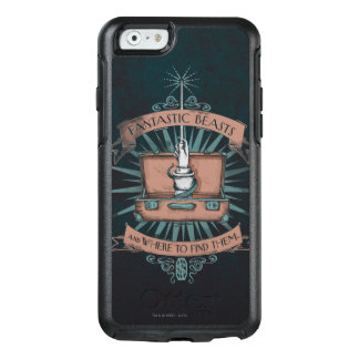 Fantastic Beasts Newt's Briefcase Graphic OtterBox iPhone 6/6s Case