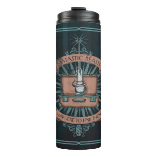 Fantastic Beasts Newt's Briefcase Graphic Thermal Tumbler