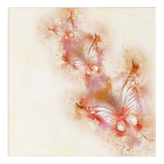 Fantastic beautiful Butterfly Acrylic Wall Art