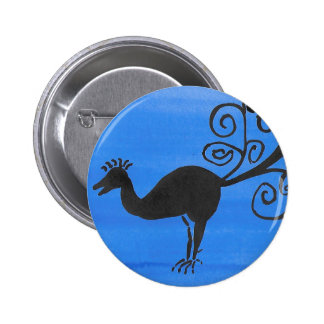 Fantastic Bird 6 Cm Round Badge