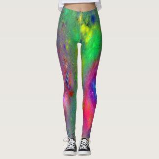 Fantastic Color Ladies Painters Leggings