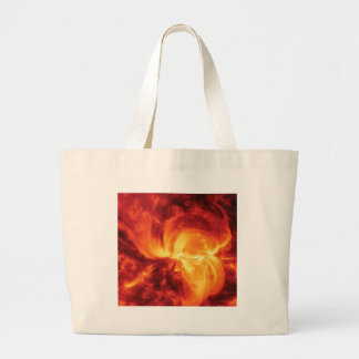 fantastic fire large tote bag