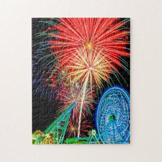 Fantastic Fireworks Puzzle