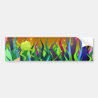 Fantastic Frog bumper sticker