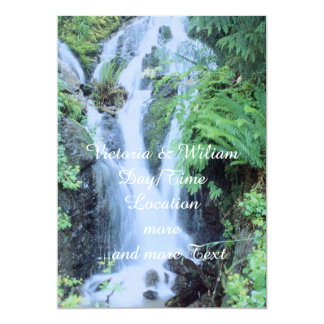 "Fantastic Landscape Austria 21 5"" X 7"" Invitation Card"