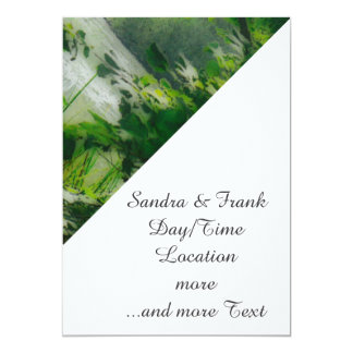 "fantastic landscape Austria 24 effect 5"" X 7"" Invitation Card"