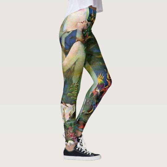 fantastic mermaid leggings