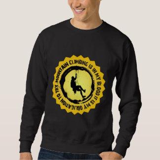 Fantastic Mountain Climbing Seal Sweatshirt