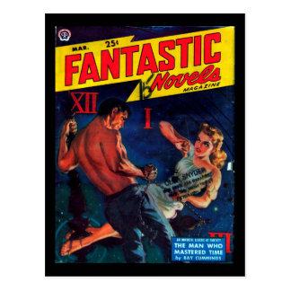 Fantastic Novels - 1950.37_Pulp Art Postcard