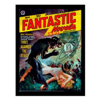 Fantastic Novels - 1950.53_Pulp Art Postcard