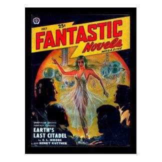 Fantastic Novels - 1950.72_Pulp Art Postcard
