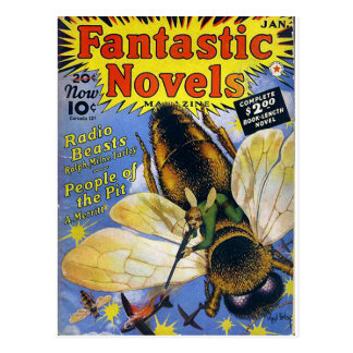 Fantastic Novels Postcard