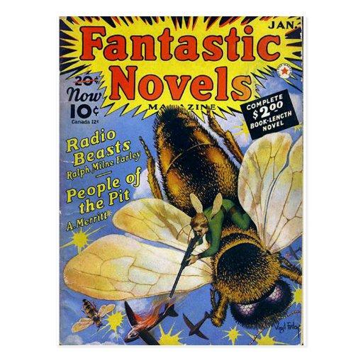 Fantastic Novels Post Cards