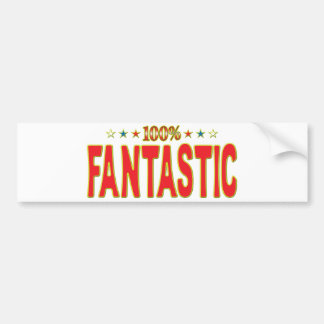 Fantastic Star Tag Bumper Sticker