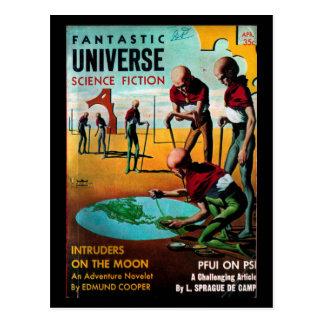 Fantastic Universe - 1957-4_Pulp Art Postcard