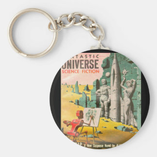 Fantastic Universe v08 n06 (1957-12.King-Size)_Pul Basic Round Button Key Ring