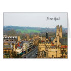 Fantastic View, Oxford, England, High Street #1 Card