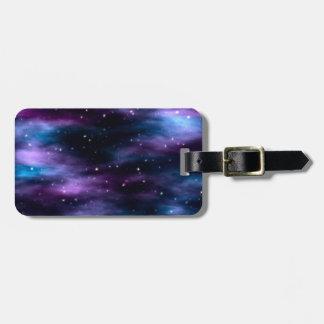 Fantastic Voyage Space Nebula Luggage Tag