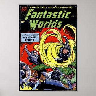 Fantastic Worlds Poster