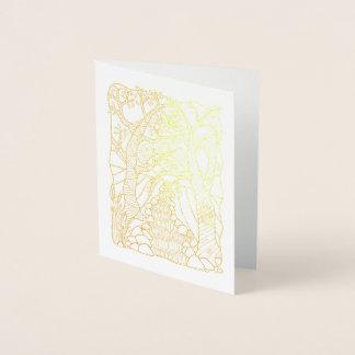 Fantastical Forest Stream Foil Card