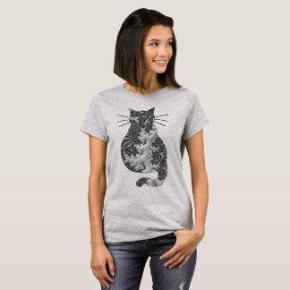 Fantasy 3 D Cat T-Shirt
