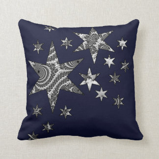 Fantasy 3 D Stars Cushion