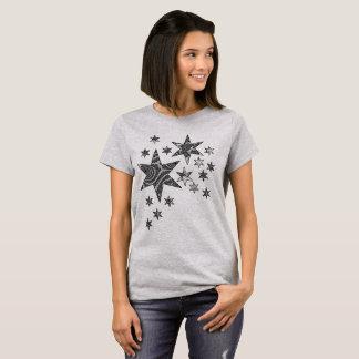 Fantasy 3 D Stars T-Shirt