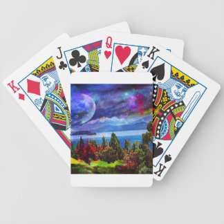Fantasy and imagination live together bicycle playing cards
