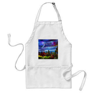Fantasy and imagination live together standard apron