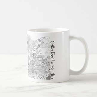 Fantasy and Myth Collage Mug