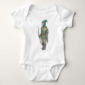 Fantasy Archer Man Bow Arrow Baby Bodysuit
