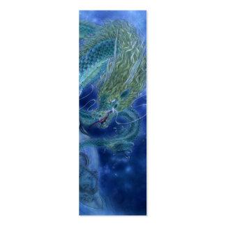 Fantasy Art Bookmark - Dragon Lore Business Card Template