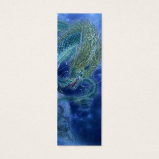 Fantasy Art Bookmark - Dragon Lore Mini Business Card
