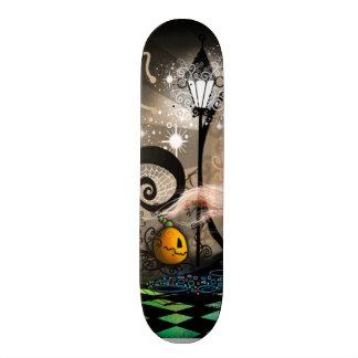 Fantasy art nouveau witch 21.3 cm mini skateboard deck