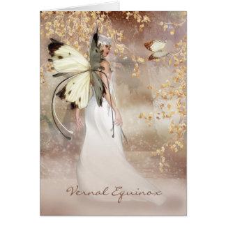 fantasy art, spring, march,solstice,vernal,equinox card