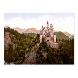 fantasy-art-wallpaper-34, Neuschwanstein Castle Postcard