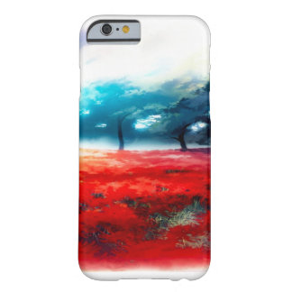 Fantasy Autumn Forest Airbrush Art iPhone Barely There iPhone 6 Case