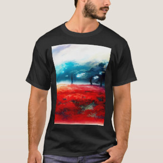 Fantasy Autumn Forest Airbrush Art T-Shirt