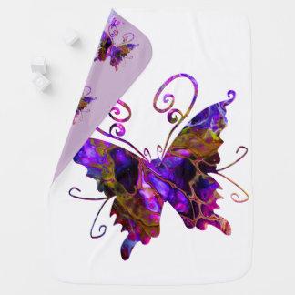 Fantasy Butterflies Baby Blanket
