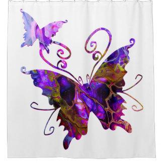 Fantasy Butterflies Shower Curtain