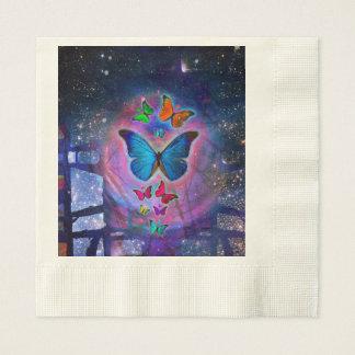 Fantasy Butterfly Paper Napkin