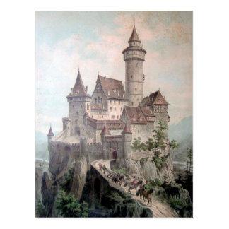 Fantasy Castle Postcard