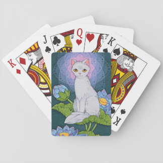 Fantasy Cats Oracle Affirmation - Mindfulness Playing Cards
