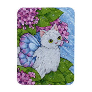 Fantasy Cats Oracle Affirmation - Patience Magnet