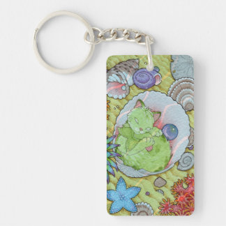 Fantasy Cats Oracle Affirmation - Sleep Key Ring