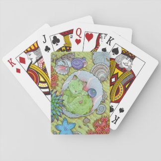 Fantasy Cats Oracle Affirmation - Sleep Poker Deck