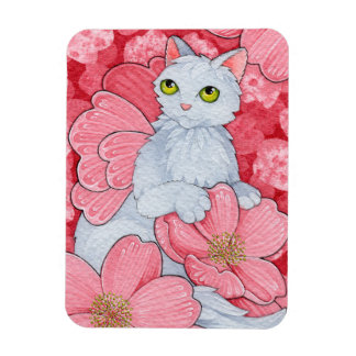 Fantasy Cats Oracle Affirmation - Spring Magnet