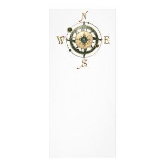 Fantasy (Celtic) Compass Design Customised Rack Card