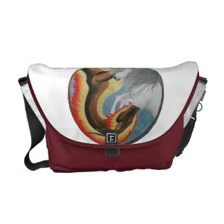 Fantasy Circle Courier Bags