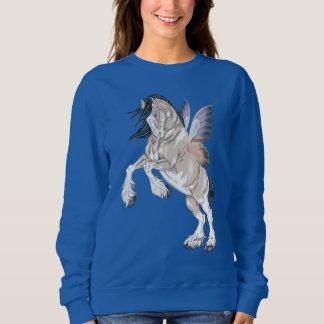 Fantasy Clydesdale Horse Fairy Sweatshirt